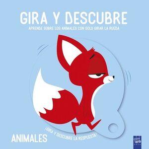 ANIMALES.(GIRA Y DESCUBRE)