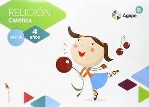 RELIGIÓN ÁGAPE-BERIT 4 AÑOS