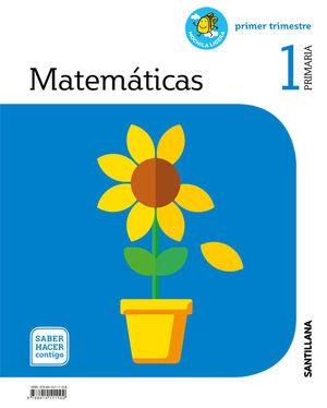 MATEMATICAS MOCHILA LIGERA 1 PRIMARIA SABER HACER CONTIGO