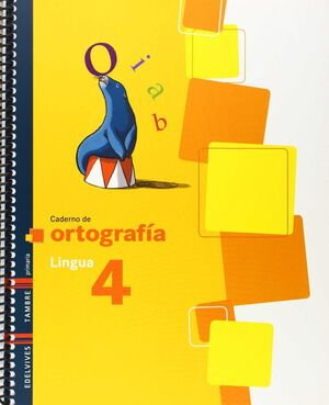 CADERNO DE ORTOGRAFIA 4 LINGUA