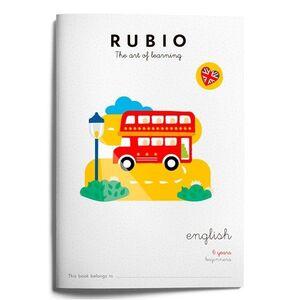CUADERNO RUBIO A4 IN ENGLISH 6 AÑOS