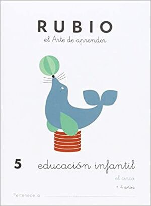 CUADERNO RUBIO A5 E.I. Nº 5 EL CIRCO