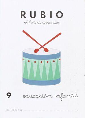 CUADERNO RUBIO A5 E.I. LOS INSTRUMENTOS MUSICALES
