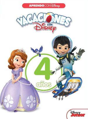 VACACIONES CON DISNEY. 4 AÑOS (APRENDO CON DISNEY)