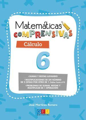 MATEMÁTICAS COMPRENSIVAS, CÁLCULO 6