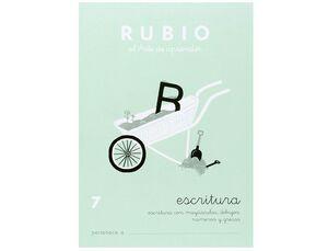 CUADERNO RUBIO A5 ESCRITURA Nº 7