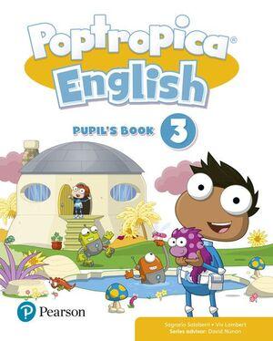 POPTROPICA ENGLISH 3, PUPIL
