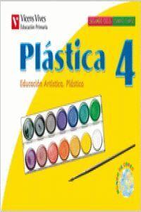 PLASTICA 4 GALICIA. LIBRO DO ALUMNO. EXPRESION PLASTICA E