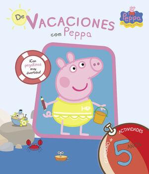 DE VACACIONES CON PEPPA PIG, 5 AÑOS