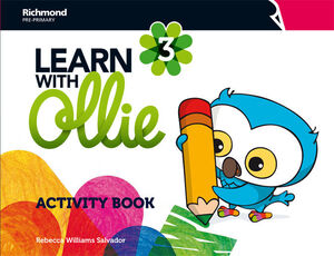 LEARN WITH OLLIE 3 ACTIVITY BOOK