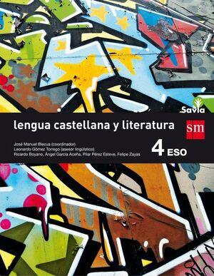 LENGUA LITERATURA 4ºESO SAVIA 2016