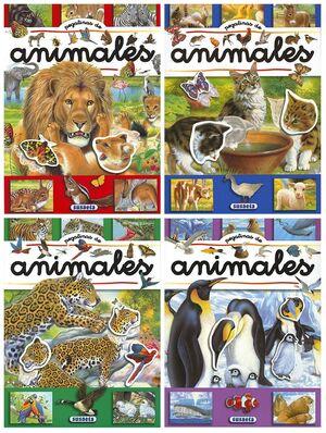 LIBRO PEGATINAS DE ANIMALES