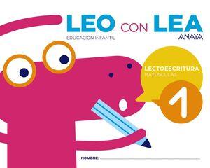 LEO CON LEA 1. MAYÚSCULAS.