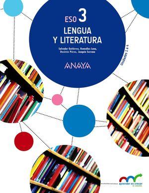 LENGUA Y LITERATURA 3º ESO
