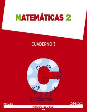 MATEMÁTICAS 2. CUADERNO 3.