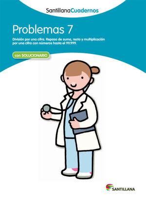 PROBLEMAS 7 SANTILLANA CUADERNOS