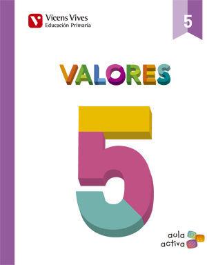 VALORES 5 (AULA ACTIVA)