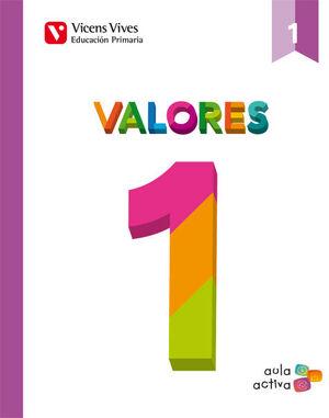 VALORES 1 (AULA ACTIVA)