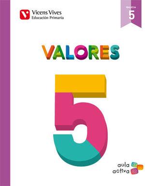 VALORES 5 GALICIA (AULA ACTIVA)