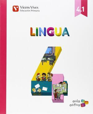 LINGUA 4 (4.1-4.2-) AULA ACTIVA