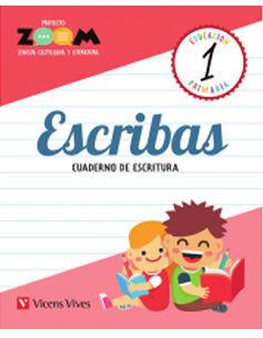 ESCRIBAS 1 CUADERNO DE ESCRITURA (ZOOM)