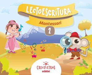 CRECELETRAS CUADERNO 2  MONTESSORI