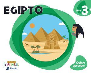 QUIERO APRENDER NIVEL 3 EGIPTO