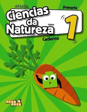 CIENCIAS DA NATUREZA, 1º PRIMARIA, CUADERNO DEL ALUMNO