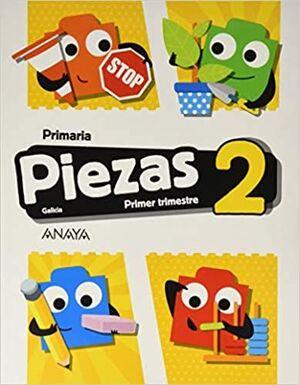 PIEZAS 2. PRIMER TRIMESTRE. + LEO Y COMPRENDO. GALICIA EN IMAXES 2.