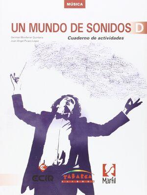 UN MUNDO DE SONIDOS D CUADERNO
