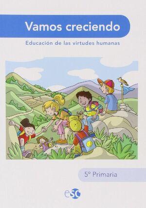 VAMOS CRECIENDO, 5 EDUCACIÓN PRIMARIA