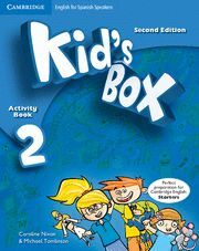 KID'S BOX FOR SPANISH SPEAKERS  LEVEL 2 ACTIVITY BOOK WITH CD-ROM AND LANGUAGE P