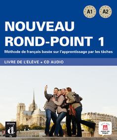 NOVEAU ROND POINT 1 LIVRE DE L'ÉLÈVE + CD
