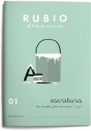 CUADERNO RUBIO A5 ESCRITURA Nº 01