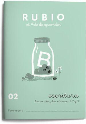 CUADERNO RUBIO A5 ESCRITURA Nº 02