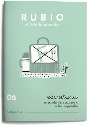 CUADERNO RUBIO A5 ESCRITURA Nº 06