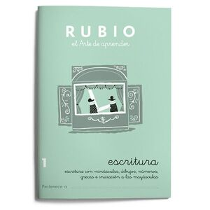 CUADERNO RUBIO A5 ESCRITURA Nº 1