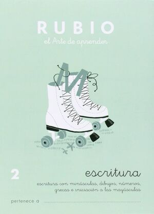 CUADERNO RUBIO A5 ESCRITURA Nº 2