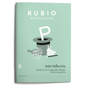 CUADERNO RUBIO A5 ESCRITURA Nº 5