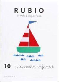 CUADERNOS RUBIO PREESCOLAR Nº10
