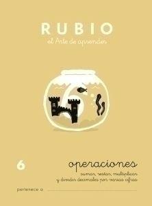 CUADERNO RUBIO A5 PROBLEMAS Nº 6