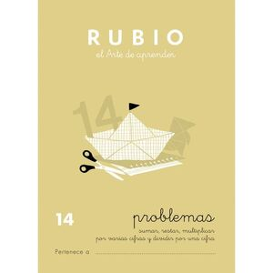 CUADERNO RUBIO A5 PROBLEMAS Nº 14