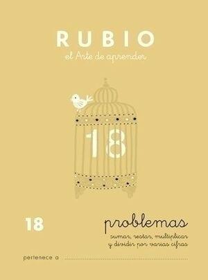 CUADERNO RUBIO A5 PROBLEMAS Nº 18