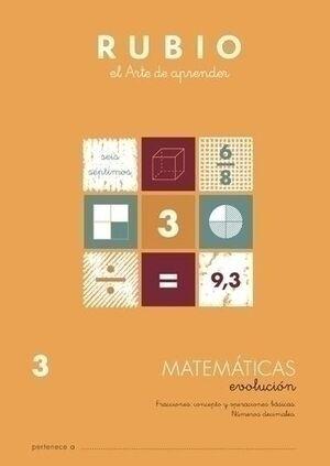 CUAD. RUBIO EVOLUCION MATEMATICAS 3