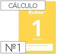CUADERNO RUBIO A4 ESTIMULACION COGNITIVA CALCULO 1