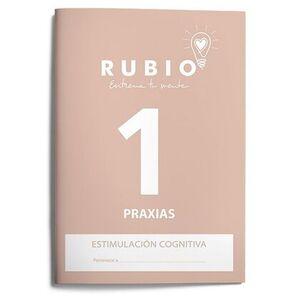 CUADERNO RUBIO A4 ESTIMULACION COGNITIVA PRAXIAS Nº 1