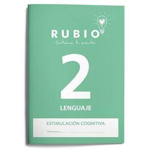 CUADERNO RUBIO A4 ESTIMULACION COGNITIVA LENGUAJE  Nº 2