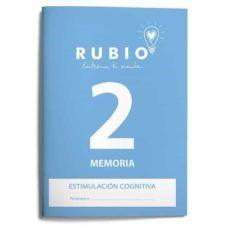 CUADERNO RUBIO A4 ESTIMULACION COGNITIVA MEMORIA Nº 2