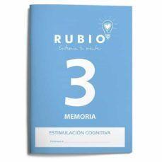 CUADERNO RUBIO A4 ESTIMULACION COGNITIVA MEMORIA Nº 3