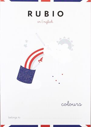 CUADERNO RUBIO A5 ENGLISH COLOURS